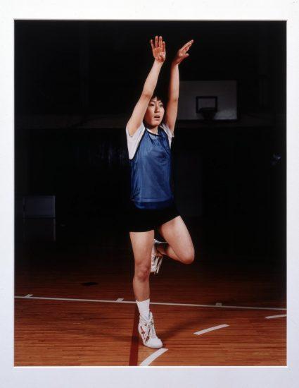 Goshogaoka Girls Basketball Team: Ayako Sano 1997 Sharon Lockhart born 1964 Presented by the American Fund for the Tate Gallery, courtesy of Heidi L. Steiger 2012 http://www.tate.org.uk/art/work/P13235