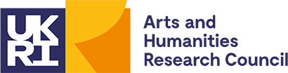 The Arts and Humanities Research Council, UKRI Logo