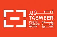 The Inaugural Tasweer Photo Festival Qatar  Logo